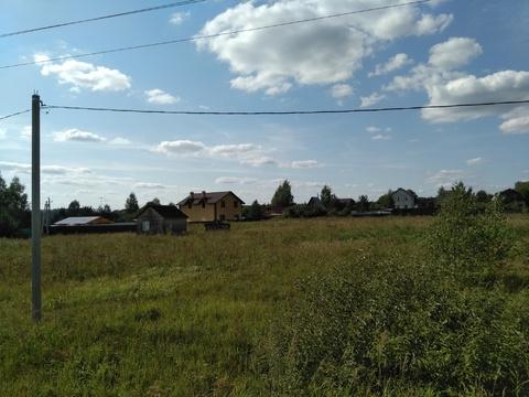 Участок 15 соток Рузский район, деревня Большие Горки