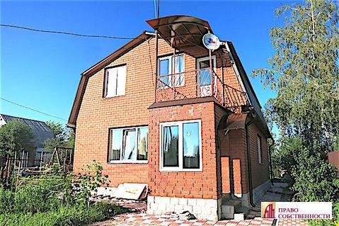 2-эт.кирпичный дом и 6 соток в СНТ Моторвагонник д.Литвиново Раменское