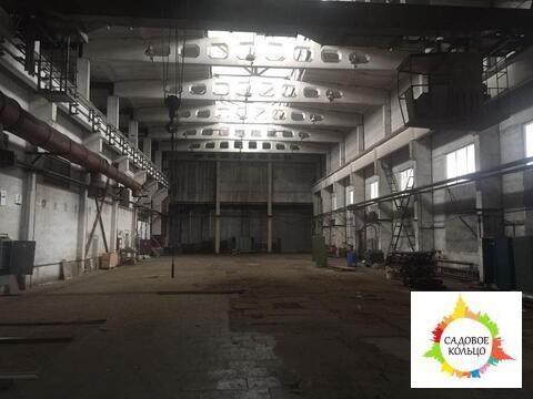 Сдаются отапливаемые и неотапливаемые склады с высокими потолками 12 м