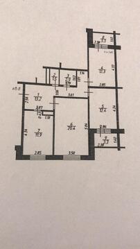 Володарского, 3-х комнатная квартира, Елохова роща д.12, 4500000 руб.