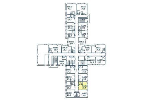 Москва, 1-но комнатная квартира, ул. Радиальная 6-я д.7, к 35, 2788133 руб.