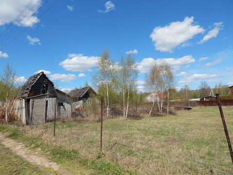 Участок 8 соток в д. Красотино в 300 м от Москва реки.