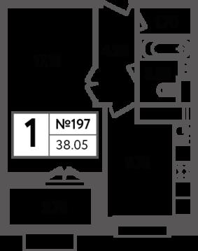Москва, 1-но комнатная квартира, Яна Райниса б-р. д.вл.4, корп.3, 8074210 руб.
