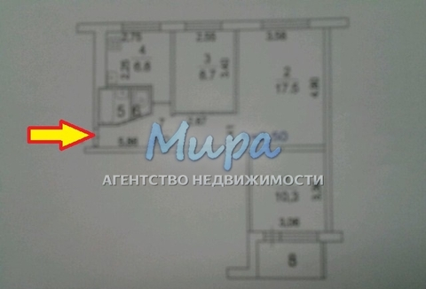 Люберцы, 3-х комнатная квартира, ул. Побратимов д.25, 5300000 руб.