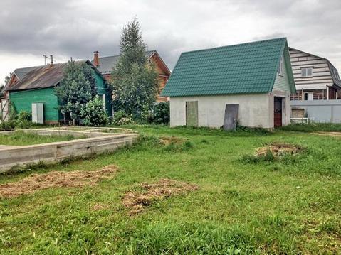 Дом 30,6 кв.м на участке 12 сот. 57 км от МКАД по Ленинградскому шоссе