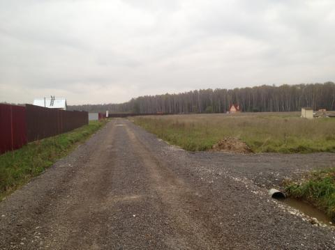 10 соток в Чеховском районе 50 км. от МКАД