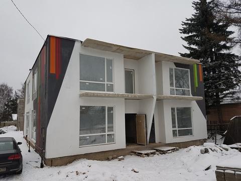 Сергиев Посад. Новый дом в квадрохаусе. Патио на крыше. Все коммуникац