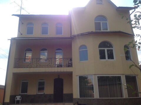 Дом 550 м.кв на участке 7 соток 12 км от МКАД рядом Рассказовка