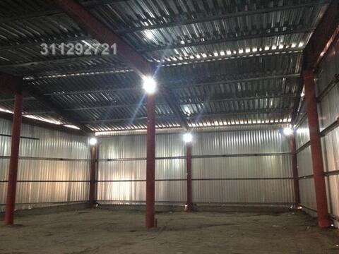 Под склад, ангар из металлоконструкций, холод, выс. потолка: 5,5 м, о