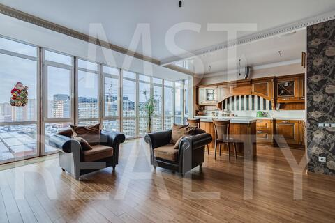 Шикарная квартира с панорамным остеклением
