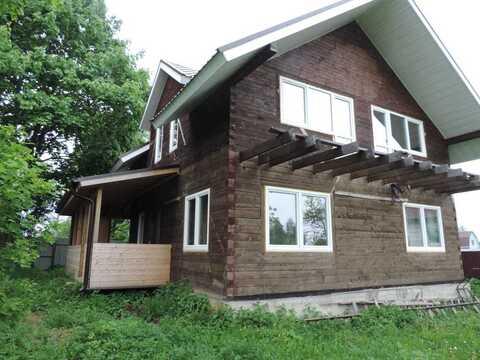 На берегу реки Руза в дер. Козлово Шаховского р-на продается новый дом