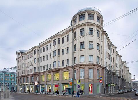 Двухуровневая квартира 280м на Сретенке