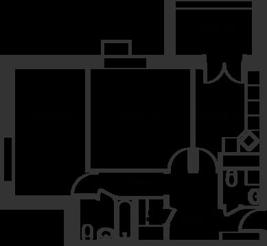 "2-комнатная квартира, 64 кв.м., в ЖК ""Дом на Сходненской"""