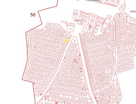 В дачном поселке Захарьино продается участок 9 соток
