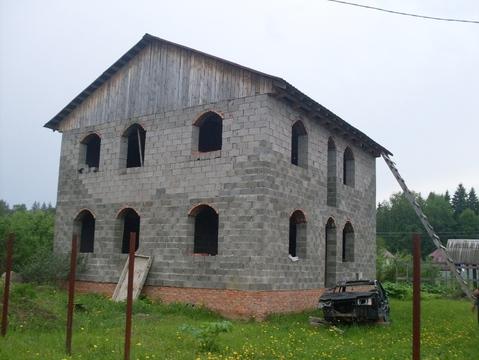 Срочно продается дом без отделки в СНТ Бабаево Рузский р.