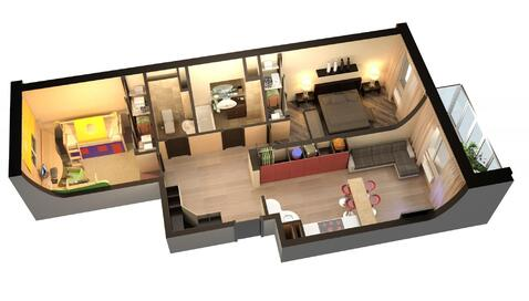 Продажа 2-х комнатной квартиры в ЖК Октябрь, 12 км. от МКАД
