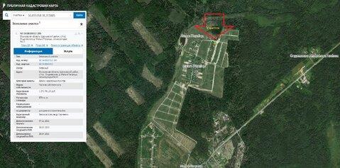 Земельный участок 9 соток в деревне Малые Петрищи, Щелковский район