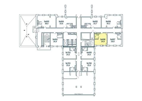 Москва, 1-но комнатная квартира, ул. Радиальная 6-я д.7, к 35, 2765916 руб.