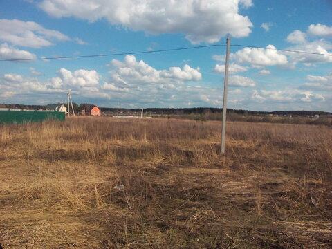 Продам земельный участок в деревне Минино