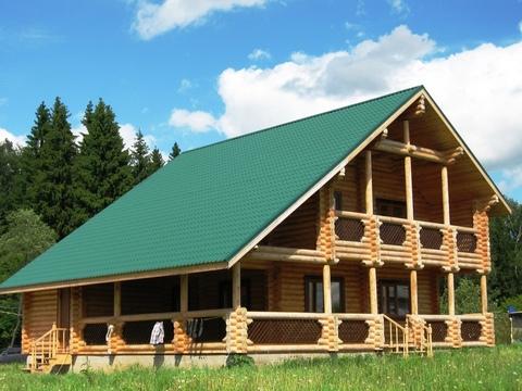 Дом рядом с озером Сенеж общей площадью 230 кв.м. на участке 15 соток