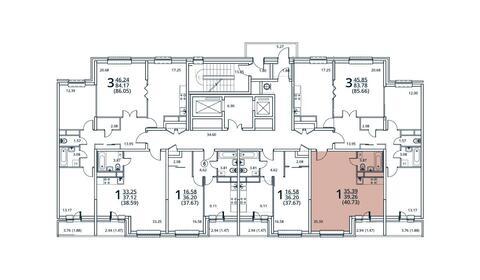 Москва, 1-но комнатная квартира, ул. Радиальная 6-я д.7, 4661548 руб.