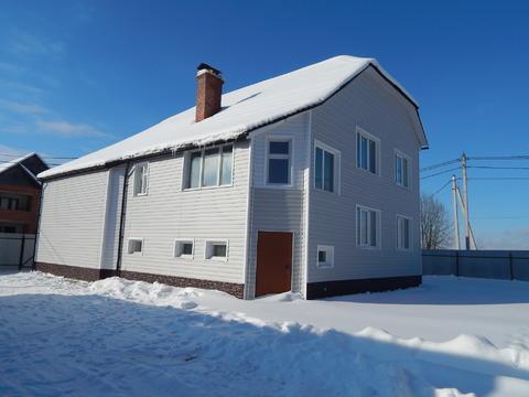 Цена снижена! Новый дом 290 кв.м на участке 9 соток в д. Сонино