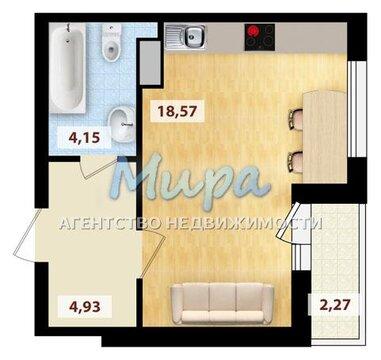 Продается 1-комнатная квартира-студия г.Люберцы, ул.Вертолетная, д.4к
