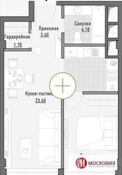 Продам шикарную 2-х комн. квартиру в Москве пл. 44. 86 м2 в.