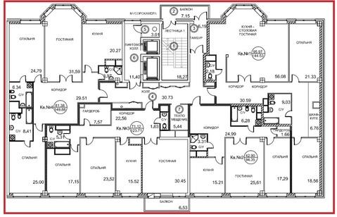 15-комнатная квартира, 550 кв.м., в ЖК Royal House on Yauza