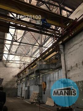 Сдается неотапливаемый склад потолки 12 метров, две кранбалки одна 5 т