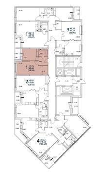 Москва, 1-но комнатная квартира, ул. Радиальная 6-я д.7, 4518345 руб.