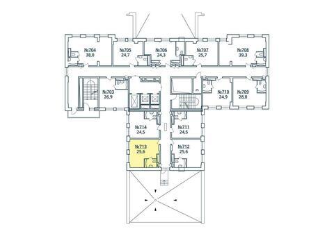 Москва, 1-но комнатная квартира, ул. Радиальная 6-я д.7, к 35, 2968089 руб.