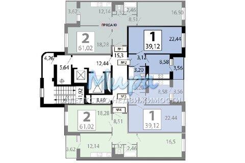Люберцы, 2-х комнатная квартира, ул. Гоголя д.3, 5750000 руб.