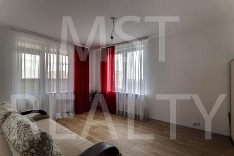 1-комнатная квартира, 43 кв.м.