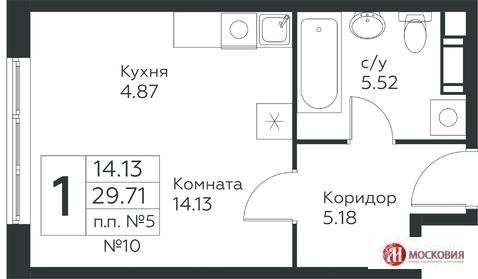 Москва, 1-но комнатная квартира, Проектируемый проезд 7032 д.45, 3510000 руб.