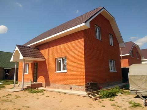 Дом из пеноблоков 150 кв.м (обложен кирпичом). Участок 8 соток.