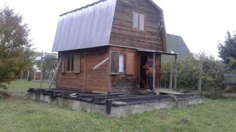 """Продам дачу 90 кв.м. на участке 8 соток. г.о. Домодедово, СНТ """"Луч"""""""