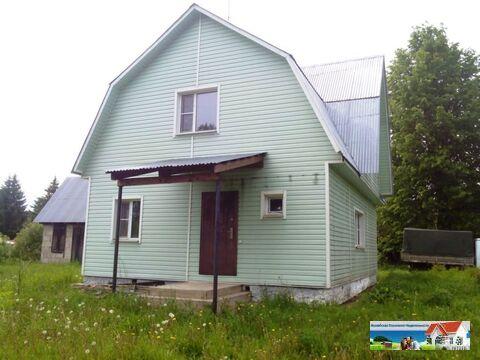 Новый пеноблочный дом 100 кв.м, 15 соток, д. Зачатье.