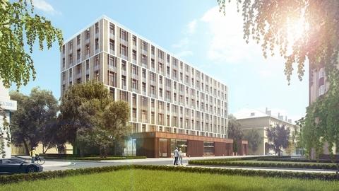 Клубный дом на Сретенке. Комфортный апартамент премиум-класса 56,5 кв. .