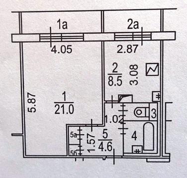 Москва, 1-но комнатная квартира, ул. Краснодарская д.14, 30000 руб.