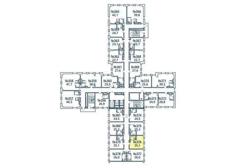 Москва, 1-но комнатная квартира, ул. Радиальная 6-я д.7, к 35, 2753954 руб.