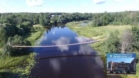 Участок 15 соток ИЖС на первой линии реки Хотча