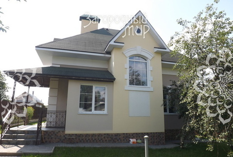 Новый дом в красивой деревне рядом с озером Круглое.