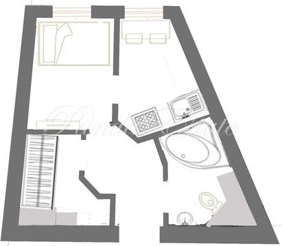 1-комнатная квартира, 31 кв.м., в ЖК Wellton Park