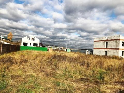 Участок 10 соток под строительство жилого дома в 2 км от города.