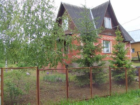 Срочно продается кирпичная красивая дача в СНТ Светлана, Рузский р.
