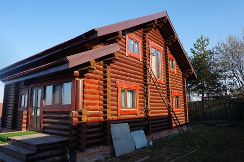 Сдам на длительный срок новый бревенчатый дом в д.Глазово (габо)