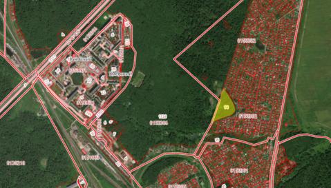 Продается земельный участок под малоэтажное строительство.