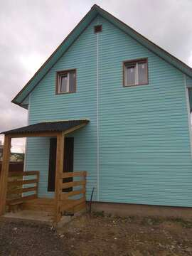 Купить дом из бруса в Подольском районе д. Бережки