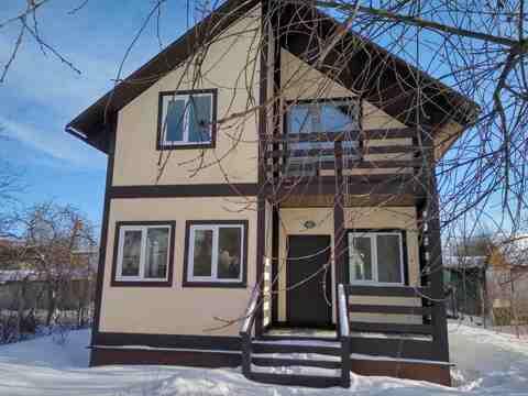 Зимний 2-эт. дом, 110 м.кв. Подольск, вблизи ж.д. ст. Силикатная